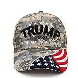 トランプ 帽子 アメリカ大統領 選挙活動 make America Great Again コスプレ グッズ 調整可能 米国の旗付き 野球帽 キャップ帽子 Donald Trump Hat 2020 Keep Merica Great Back Mesh Trump Baseball Cap