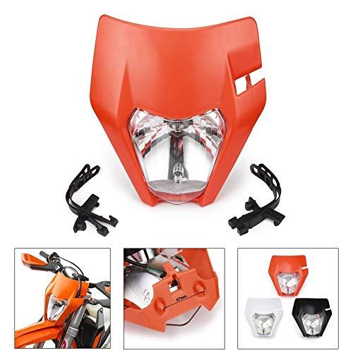 Carenado de Moto De Accesorios de Motos EXC XC XCF XCW XCFW SX SXF SXS 125 150 250 350 450 530 Bici de la Suciedad de la Motocicleta Universal Faros Faro luz de la lámpara Spoiler de la Moto