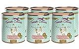 Terra Canis Getreidefreies Nassfutter I Reichhaltiges Premium Hundefutter in echter Lebensmittelqualität mit Huhn, Pastinake & Brombeere I 6 x 800g, allergenarm & glutenfrei