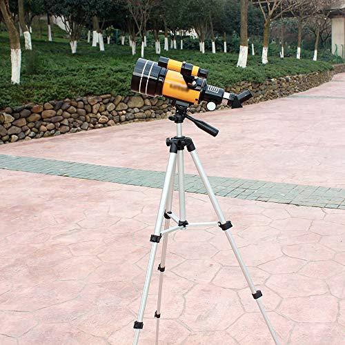 YZPWYJ Telescopio astronómico Focal Profesional de 700 mm con trípode Buscador Espacio terrestre Observación de la Luna Telescopio monocular, para niños Adultos Principiantes de astronomía