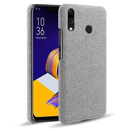 SHUNDA Capa para Asus Zenfone 5 ZE620KL, capa de proteção ultra fina de tecido de feltro antiimpressão digital para Asus Zenfone 5 ZE620KL - cinza claro