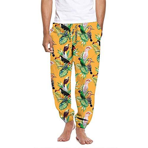 Mens Birds of Paradise Pajama Lounge Pant