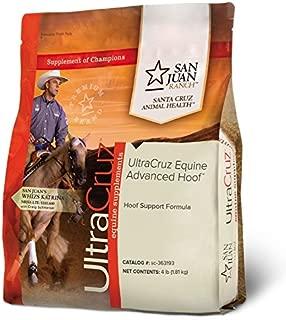 UltraCruz Equine Advanced Hoof Supplement for Horses, 4 lb, Pellet (56 Day Supply)