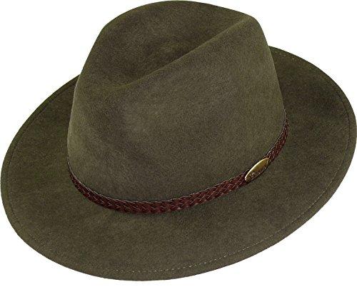 rollbarer Hut in 3 Farben, Kopfgroesse: 56, Schlamm