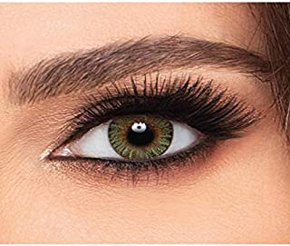 Freshlook Clorblends Monthly Contact Lens - GREEN, Power -0.00