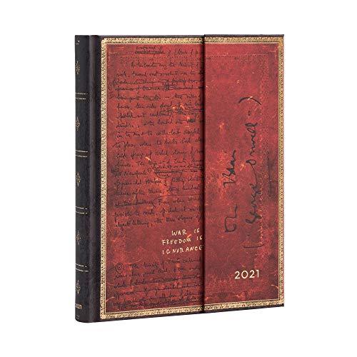 Paperblanks 12-Monatskalender 2021 Orwell, 1984 | Tagesüberblick | Ultra (180 × 230 mm), DD6743-6