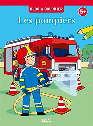 Amazon Fr Coloriage Camion Pompier