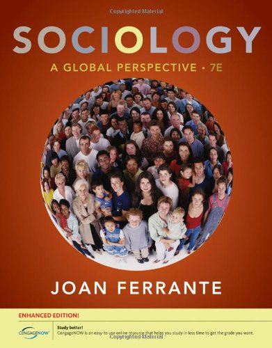 Sociology: A Global Perspective, Enhanced (Available Titles CourseMate) download ebooks PDF Books