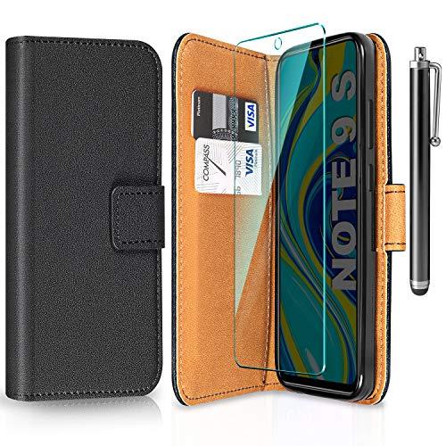 ivencase Funda para Xiaomi Redmi Note 9S/9 Pro/Pro MAX + Protector de Pantalla + Pen (Nergo)