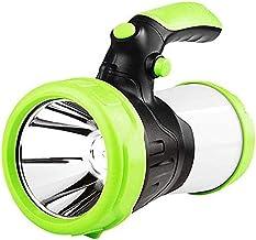 LKNJLL 1000LM Super Bright LED Flashlight Portable Projector Reflector Work Light Waterproof Camping Lamp
