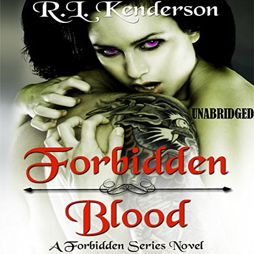 Forbidden Blood audiobook cover art