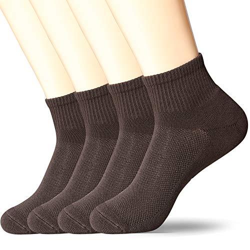 +MD 4 Paar quarter Sportsocken Herren Sneaker Socken Sportsocken für Fitness, Tennis, Joggen, Alltag