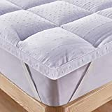 Bedecor Unterbett Matratzen Auflage Soft-Topper, Luxus-3D-Massage Bubbbles Abdeckung 160x200 cm...
