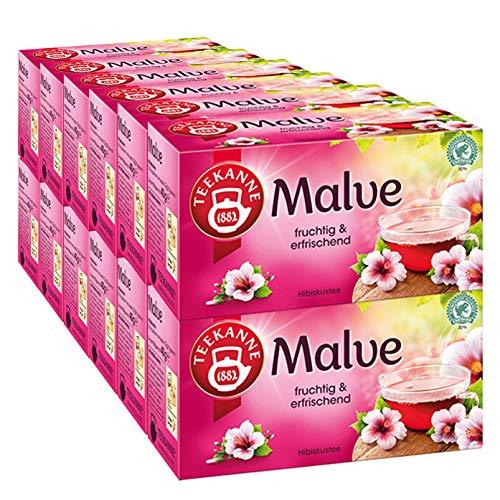 Teekanne Malve Tee, 20 Beutel, (12x40 g)