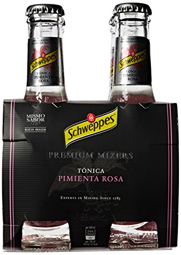 Schweppes - Tónica Pimienta Rosa, Pack 4 x 20 cl