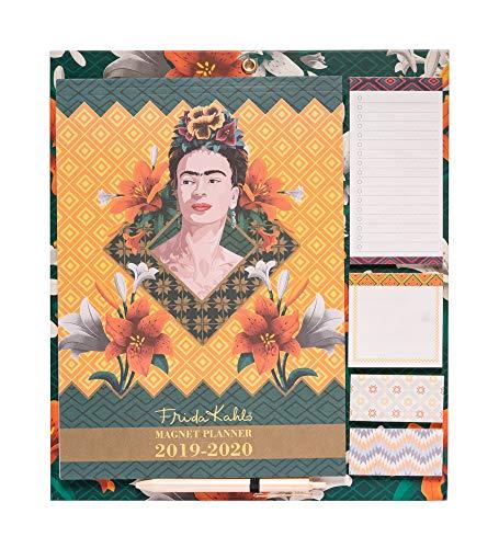 Erik - Planificador mensual de imán para nevera 2019/2020 Frida Kahlo