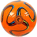 American Challenge Brasilia Soccer Ball (Orange,...