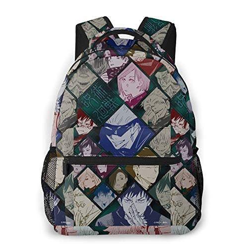 Anime Jujutsu Kaisen Backpack Daypack Laptop Bag Teens Bookbags Large Capacity for Kids Travel and Hiking 3D Printing Jujutsu Kaisen Backpack