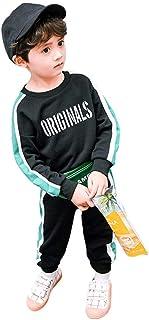 DRASAWEE(JP) 子供服 2点セット スポーツウエア トレーナー パーカー ロングパンツ カジュアル キッズ ボーイ