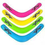 Boomerang de 40 cm, color neón brillante, se vende individualmente en varios colores....