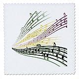 3dRose QS 115364_ 1Saatgutmischung Colorful Noten