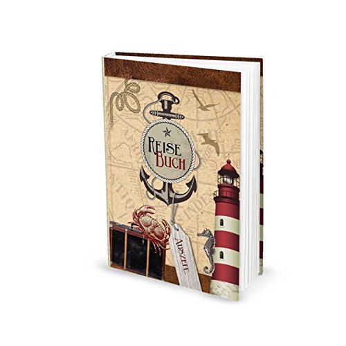 Reisebuch (Hardcover, A5): Zum festhalten von Erlebnissen, Auflügen, Tipps und Erinnerungen