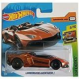 Hot Wheels Lamborghini Aventador J HW Exotics 8/10 2019 (223/250) Short Card