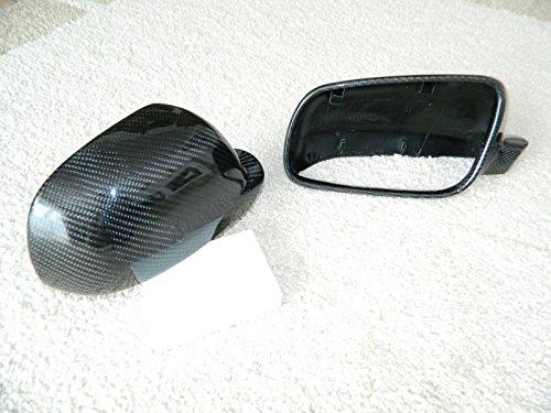 Carbon Spiegelkappen Spiegel Mirror Replacements Cover passend für Golf 4 Bora Passat 3B