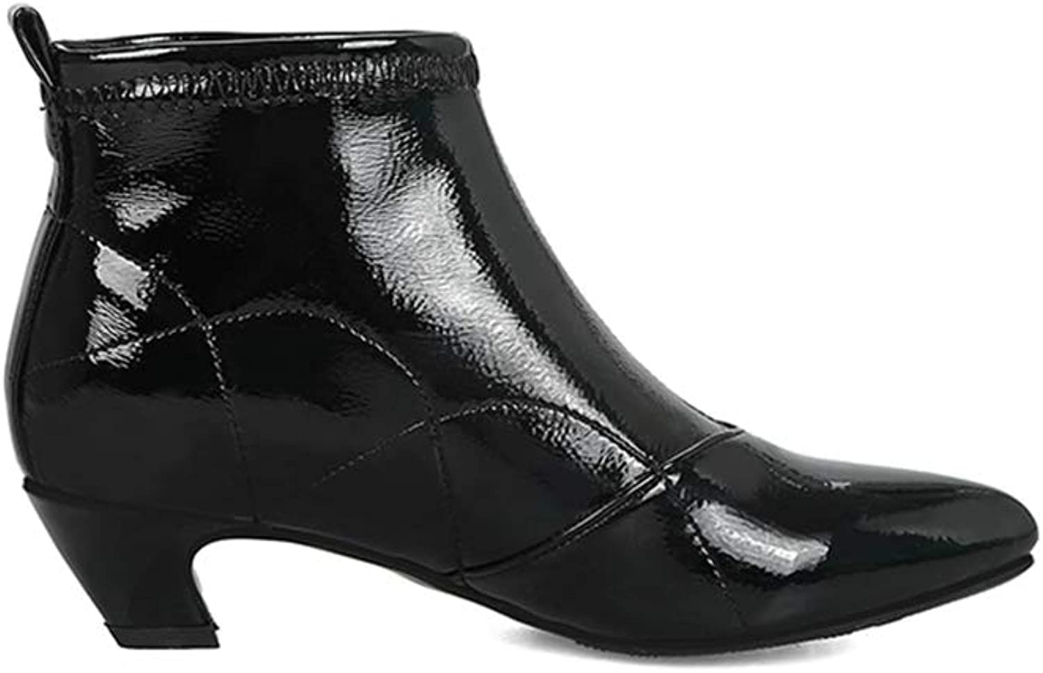 Women's Ankle Boots Women Pointed High Heel Female Sexy shoes Fashion Elegant Party Dress Boot