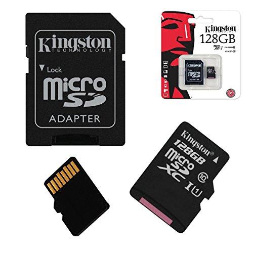 Acce2s - Tarjeta de memoria Micro SD de 128 GB Clase 10 para XIAOMI REDMi Note 9T - 9C - Note 9 Pro - Note 9 A - 9-8 - Note 8T - Note 8 Pro - 7A - Go - 7 - Note 7 - Note 6 Pro - 6-4X - Note 4 - Note 5