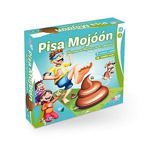 Juego de Mesa Infantil Pisa el Mojón.