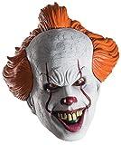 Rubies - Máscara de Pennywise para adulto, accesorio disfraz, vinilo - Talla única (Rubies 34718)