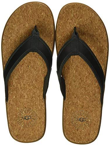 UGG Herren Seaside Flip Sandale, Moss Green, 44 EU