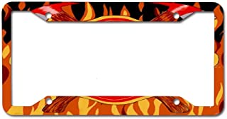 Best firefighter license plate frames Reviews