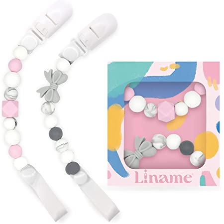 Set of Two Favorite Paci Clips