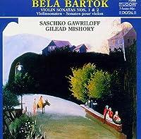 バルトーク:ヴァイオリン・ソナタ第1番/第2番