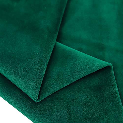 MUYUNXI Tela de Terciopelo Suave para Coser de Chaquetas decoración decoración del hogar Cortinas tapicería Vestido sillas 280 cm de Ancho Vendido por 2 Metro(Color:C050)