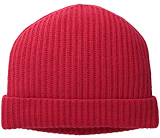 Williams Cashmere Men's Ribbed Hat, Red, One Size (B00KQAIBOG) | Amazon price tracker / tracking, Amazon price history charts, Amazon price watches, Amazon price drop alerts