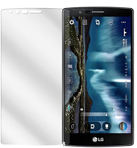 dipos I 2X Schutzfolie klar kompatibel mit LG G4 Folie Bildschirmschutzfolie