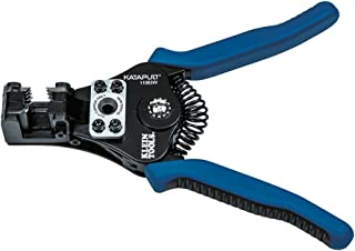 Klein Tools 11063W Wire Cutter / Wire Stripper, Heavy Duty Wire Stripper Tool for 8-20 AWG Solid and 10-22 AWG Stranded El...