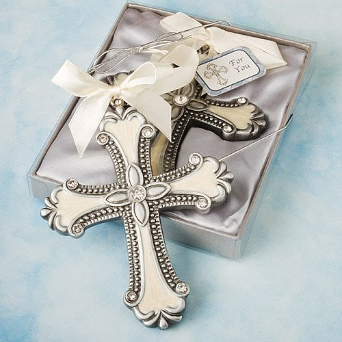 Decorative Cross Ornament Favors - 40 count by Fashioncraft