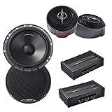 Nakamichi NSE-CS1677 6.5' 2-Way Component Speaker