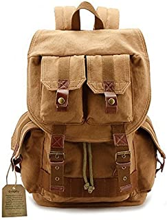 Camera Backpack Waterproof by G-raphy for DSLR /SLR Cameras (Canon , Nikon , Sony and etc ) , Flashes, Lenses and Accessories (Kahki)