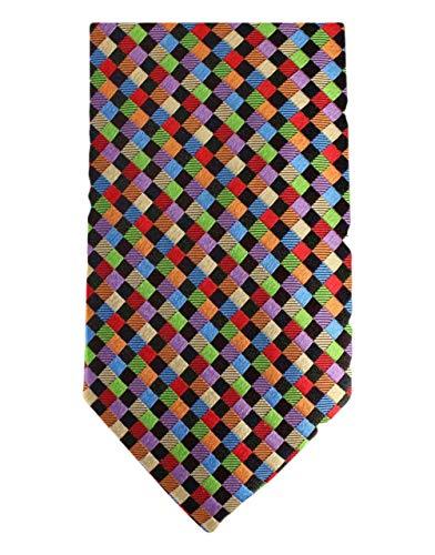 Knightsbridge Neckwear Multi-colour Kensington Diamond Silk Cravatte