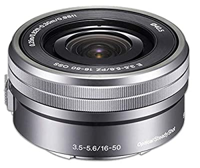 Sony E PZ 16-50mm OSS: (SELP1650) Sony E PZ 16-50mm f/3.5-5.6 OSS Lens (Silver) + AOM Pro Starter Bundle Kit Combo - International Version (1 Year AOM Warranty)