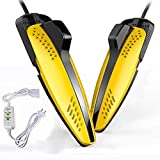 FGDSA Secador de Botas de Zapatos eléctrico Desodorizante Esterilización Calefacción Deshumidificación Hogar Adultos Niños Zapatos Calientes, Adulto