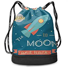 "Size: 6.89 ""x16.1x15.4"" (17.5Wx41Hx39L cm) large capacity, Can Hold Water Bottle, Umbrella, Sippers, Sunscreen And More. High-Quality Lightweight, Durable Polyester material. Sturdy and comfortable adjustable shoulder straps. Large capacity can accom..."