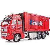 DZX Simulación Inercia Camión Ingeniería Transporter Aleación Modelo de Retroceso 1:32 Escala...