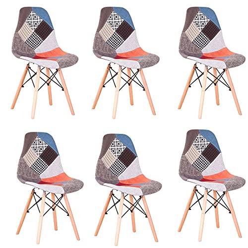 GrandCA HOME Pack de 4 sillas