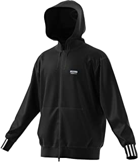 adidas Originals Men's R.Y.V. Full Zip Hoodie Fashion Hooded Sweatshirt